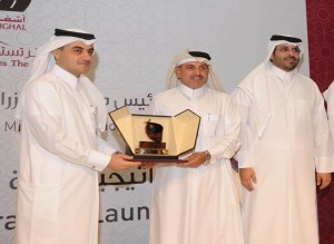 Ashghal president felicitates ITCC chairman for timely and quality delivery of projects